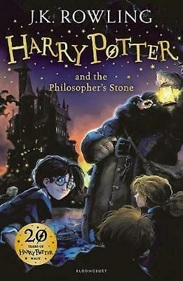 Harry Potter and the Philosopher's Stone by J K Rowling (English) Hardcover Book
