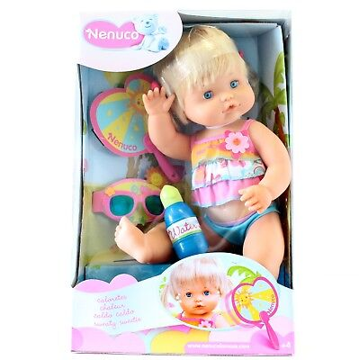 Nenuco Baby Doll Sweat Droplets Summer Doll 42cm