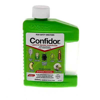 Confidor Lawn & Garden Insecticide 200ml Systemic Control Of Insect Pests