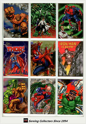 1994  Flair Marvel Annual Card SeriesFull Base Set (150)-Quality & RARE!