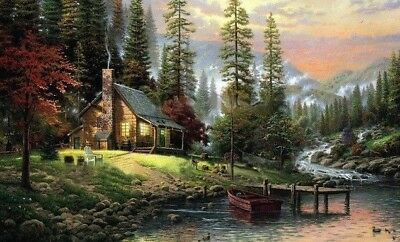 Wall Landscapes Oil Painting By Numbers Hand Painted On Canvas Home Decorations