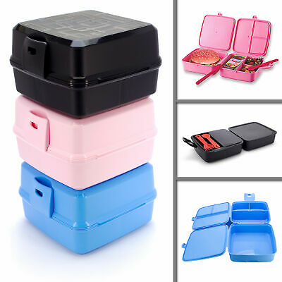 Brotdose Lunch Box Lunchbox Dose Kinder Besteck Pause Butterbrotdose Brotbox