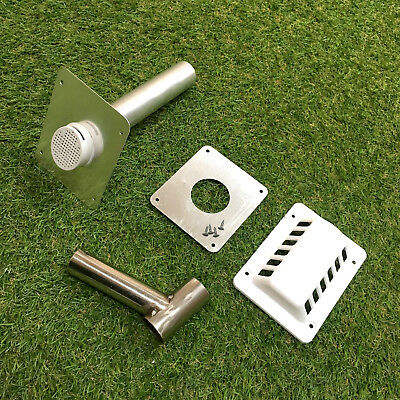 iceQ Caravan, Motorhome, Campervan, Camping Fridge Flue Vent Kit - Dometic