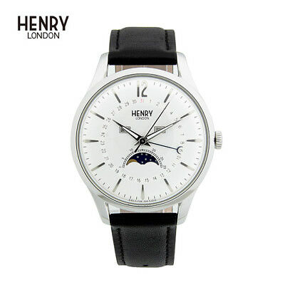 HLNP HL39-LS-0083 Henry London Edgware Gents  Leather Strap Watch