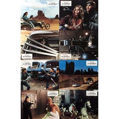 2019 AFTER THE FALL OF NEW-YORK Original Lobby Cards x8 - 9x12 in. - 1983 - Serg