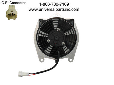 2007-2014 Yamaha Grizzly 350 Spal Hp Oil Cooler Fan Oem# 1Ns-E2405-00-00