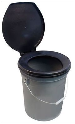 portable bucket seat loo toilet chemical Camper camping festival camp NEED A LOO
