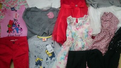 NICE 12x NEXT NUTMEG BUNDLE OUTFITS GIRL CLOTHES 4/5 YRS 5/6Y DRESS TOPS(1.6)