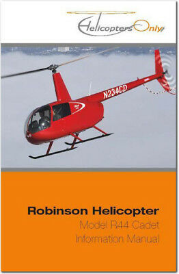 ROBINSON R44 HELICOPTER Pilot Operating Handbook POH CD - $49 95
