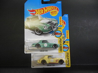 2017 Hot Wheels New Models Fairlady 2000 Legends Of Sd 2variations 18 114