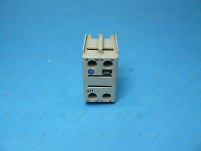Allen Bradley 100-FA11 Contactor Auxiliary Contact Front Mount 1 NO & 1 NC