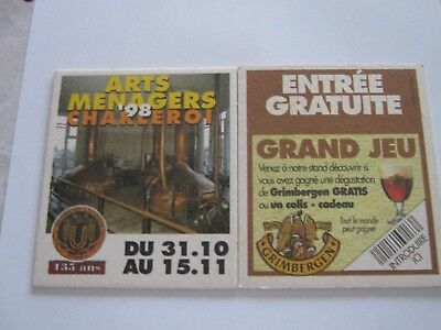 S-B coasters bierdeckel ANCIEN UNION JUMET 1998
