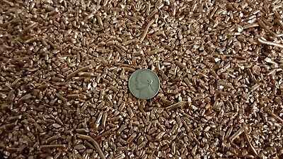 5 Pounds of Scrap Copper Wire chop granulated pellet size #1 bright chopped 1