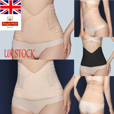 UK Women Breathable Slimming Waist Belly Recovery Belt Shapewear After Pregnancy