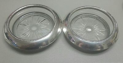 Frank M. Whiting & Co. 04 Sterling Silver Coasters Set