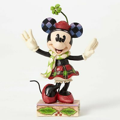 Enesco H8 Disney Traditions Jim Shore Christmas Minnie Mouse 5in Figur 4051967