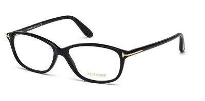 New Tom Ford Tf 5316 001 Eyeglasses Black Authentic Rx Frame Ft5316 54-14