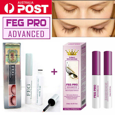 FEG PRO ADVANCED Eyelash Enhancer Growth Serum Liquid ORIGINAL 3ml WHOLESALE AU