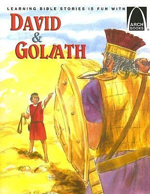 NEW - David and Goliath - Arch Books by Martha Streufert Jander