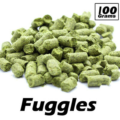 100g Fuggles hop Pellets Hops Alpha Acid 4.0-5.5% UK Home Brew  FP