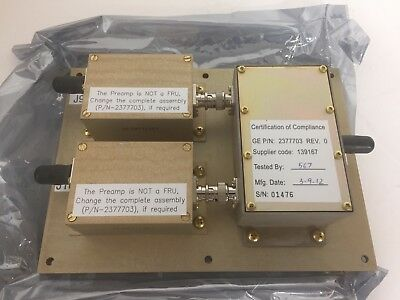 2377703 Rev 0  Ge Mri 3T Body Preamp And Combiner Module