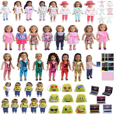 """Doll Clothes Pajames Dress for 18"""" American Girl Our Generation My Life Doll"""