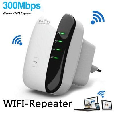 300Mbps Wifi Repeater N 802.11 AP Range Router Wireless Extender Booster AU NEW