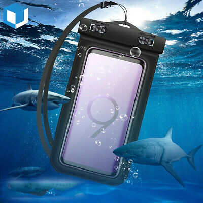Waterproof Pouch Floating Case Underwater Dry Bag For Samsung Galaxy S9/S10 Plus