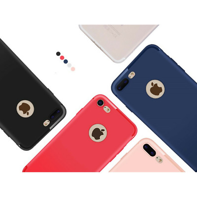iPhone X 8 7 6 PLUS 5 SE Coque TPU Ultra Slim Anti Choc Hybride Housse Etui Case
