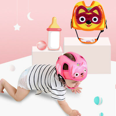 Baby Safety Helmet Head Protection Toddler Kids Adjustable Soft Headguard Cap