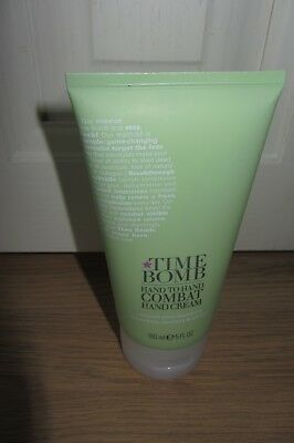LULU Time Bomb, Hand to Hand Combat Handcream 150ml ~ New ~ FREE P&P