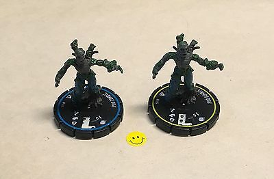 Horrorclix The Lab Pod Zombie #025 and #026 USED NO CARDS Rookie Experienced