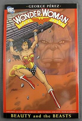 Wonder Woman Vol 3: Beauty & the Beast by George Perez & John Byrne 1st Printing