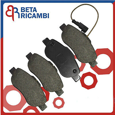 Pastiglie Pattini Freno Anteriori Per Fiat Panda 1.4 Natural Power 500 1.3 MTJ
