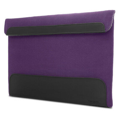 Targus Ultralife Thin Canvas Sleeve for 13.3 Ultrabooks, Purple
