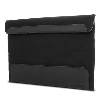 Targus Ultralife Thin Canvas Sleeve for 13.3 Ultrabooks or Macbook Air, Onyx