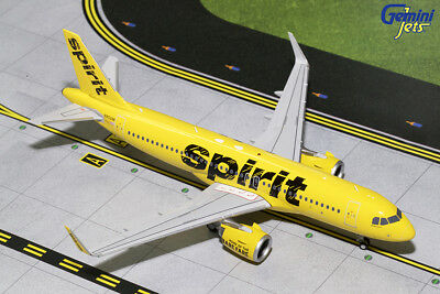 Gemini Jets 1:200 Scale Spirit Airlines Airbus A320neo N902NK G2NKS681