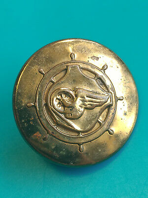 Old Vtg Collectible US Army Transportation Corps Domar G-I Pin Wings Ships Wheel