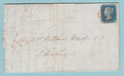 Great Britain 2 1840 Cover  Jk July 16 1840 Extra Fine !