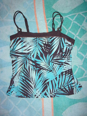 fa2118d954 One piece of a Christina TANKINI swimsuit (TOP ONLY) WOMEN S SIZE  M ADJ