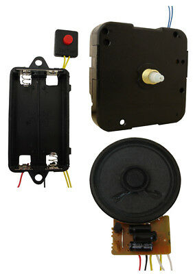 Trigger/Timekeeping Replacement Clock Movement Set - Cuckoo Sounds- Non Pendulum