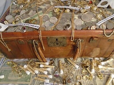 Estate Lot Silver Us Coins,gold,silver,.jewelry,.999, Pcgs,currency,stamps