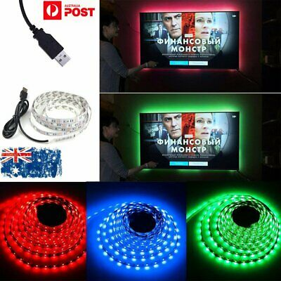 LED TV USB Backlight Kit Computer RGB LED Light Strip TV Background Lights Lamp