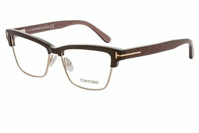 New Tom Ford Tf 5364 048 Eyeglasses Brown Authentic Rx Frame Ft5364 53-15