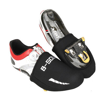 Cycling Bike Shoe Toe Cover Protector Thermal Waterproof Tough Sole Overshoes