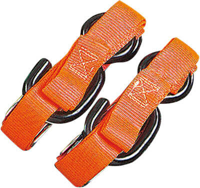 "Parts Unlimited 1""tie-Down Flour. Orange 