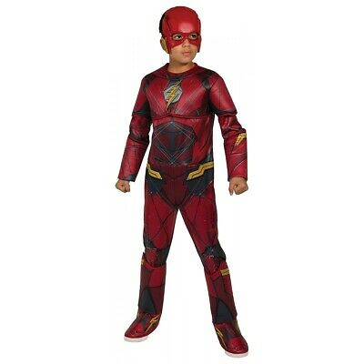 Deluxe The Flash Costume Justice League Halloween Fancy Dress