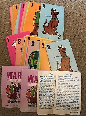 Scooby Doo WAR card game - Complete w/ All Cards - 1979 Hoyle Hanna Barbera