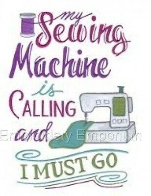 I Must Go Collection - Machine Embroidery Designs On Cd