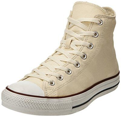 (TG. 43) Avorio (Ivory) Converse All Star Hi Canvas, Sneaker, Unisex - Adulto, A